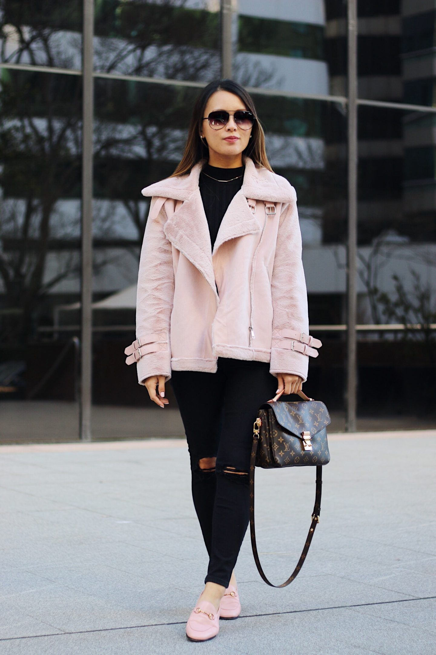 d5a48142e35 Cosiest blush fur jacket and new journey starting a YouTube channel ...