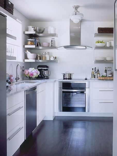 floating shelves corner shelf at the office pinterest kitchen rh pinterest com