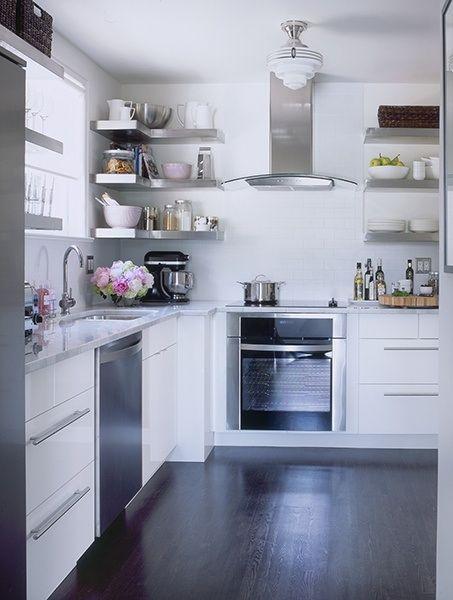 floating shelves corner shelf stainless steel kitchen on floating shelves kitchen id=25986