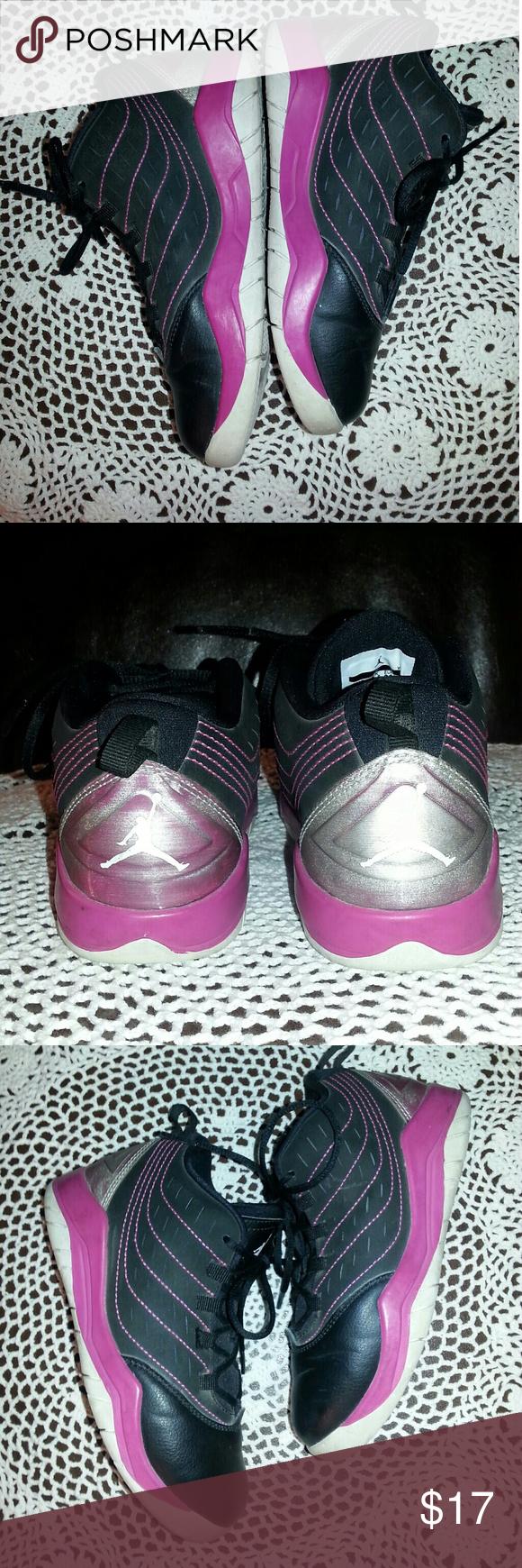 Air Jordan Girls Air Jordan size 13c. In good condition, has dirt on the bottom and normal wear and tear. Air Jordan Shoes Sneakers