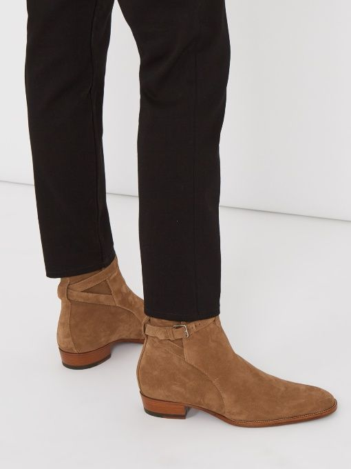 1d9f4ca0f17f Wyatt Jodhpur suede ankle boots