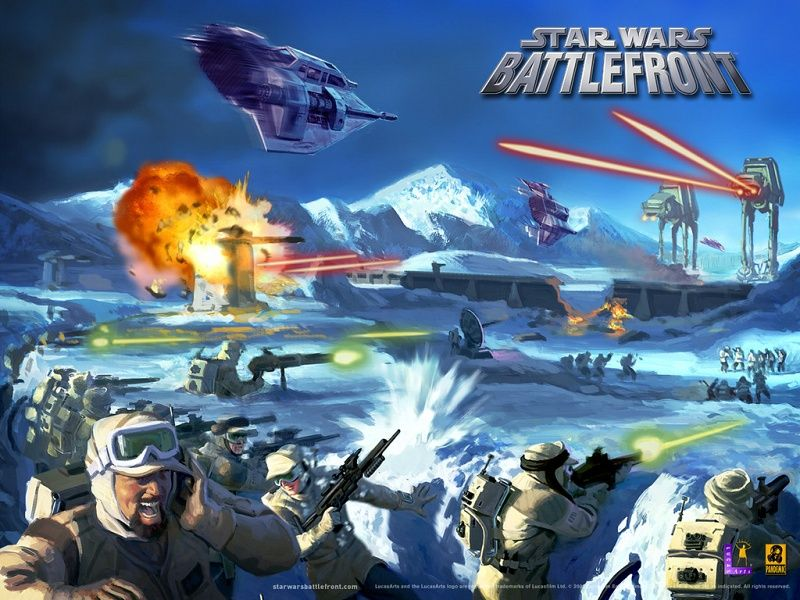 Star Wars Battlefront 1 Wallpaper Hoth