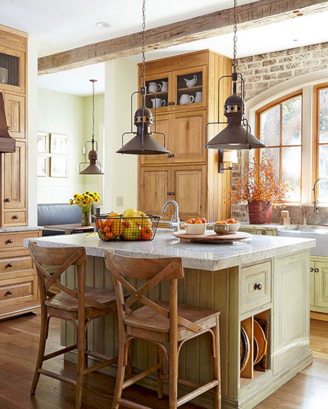 Inspiring 24 Farmhouse Rustic Small Kitchen Design And Decor Ideas Extraordinary Small Kitchen And Dining Design 2018