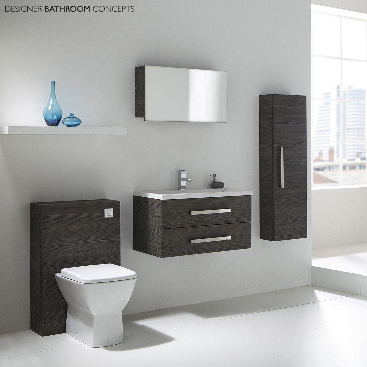 Aquatrend Designer Modular Bathroom Furniture Collection Bathroom Furniture Black Bathroom Furniture Modular