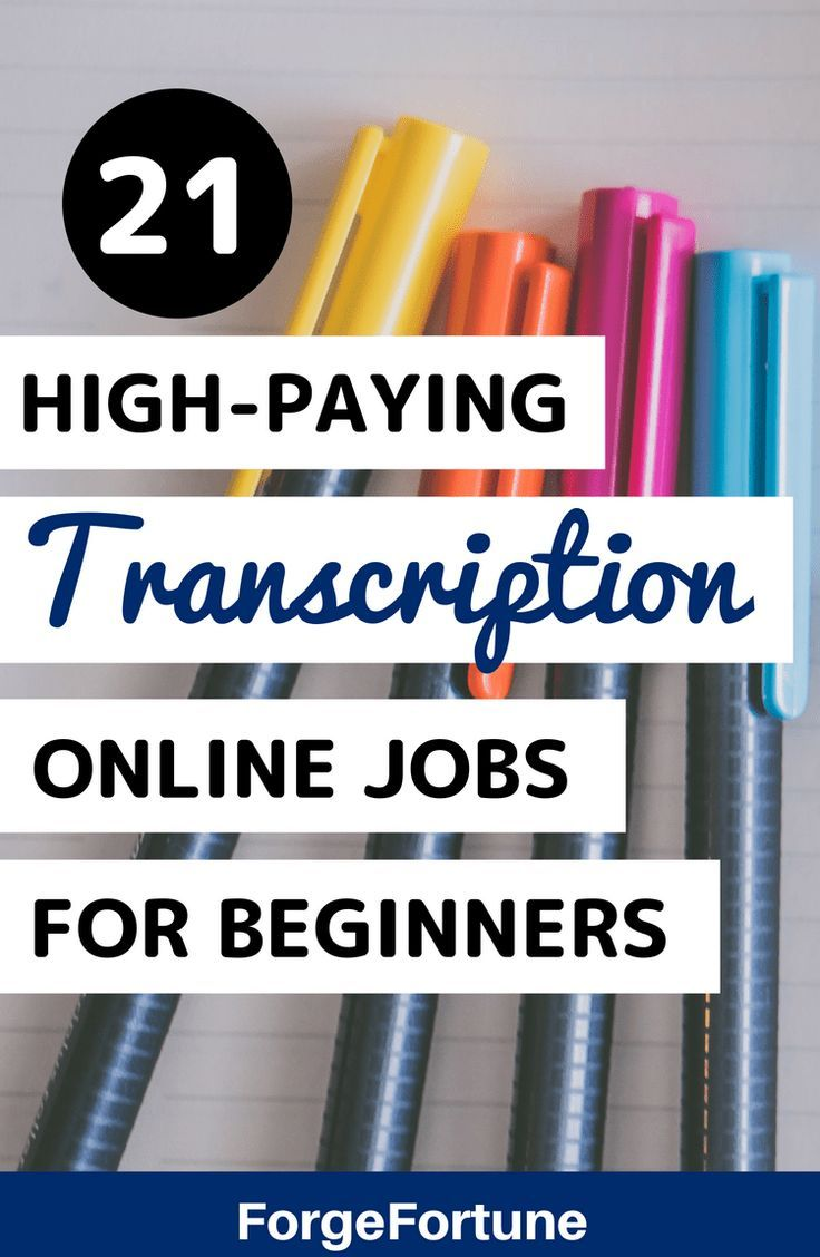 Best Transcription jobs for Beginners that pay you to Work