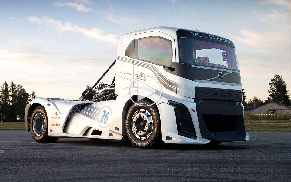 Volvo Trucks – The Iron Knight er verdens hurtigste lastbil