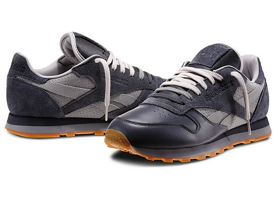Reebok Classic Leather City Classics Series Graphite Flat Grey Steel by  Stash V56035 79.99 64f465a94