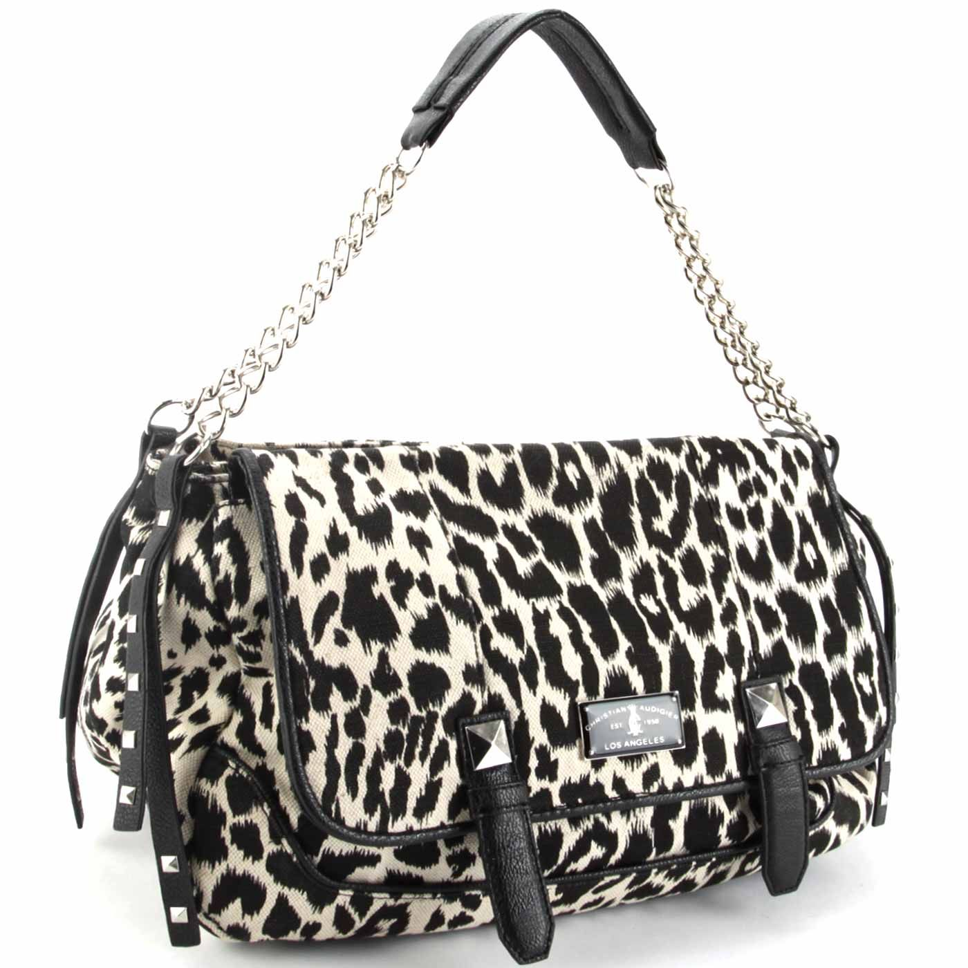 573ffa019f20 Christian Audigier Marge Hobo Bag -Leopard