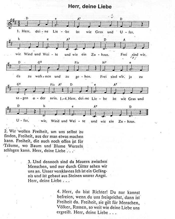 Lied Liebe Ist