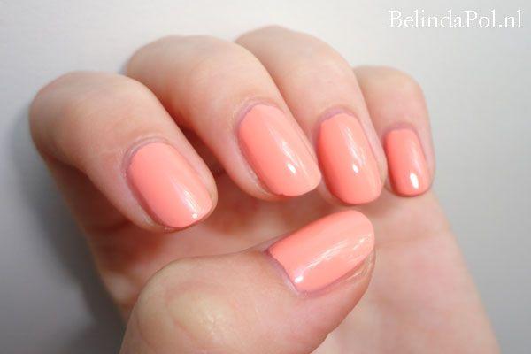 Barry M Nail Paint 318 Peach Melba