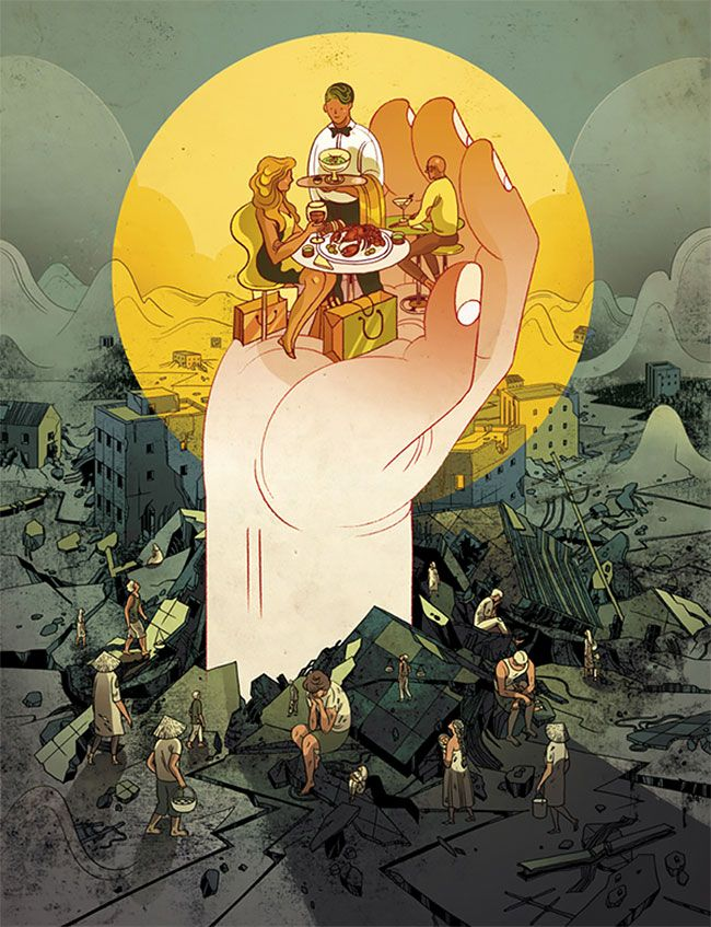 Multi-Dimensional Illustrations Weave Together Mysterious Narratives By Victo Ngai » Design You Trust