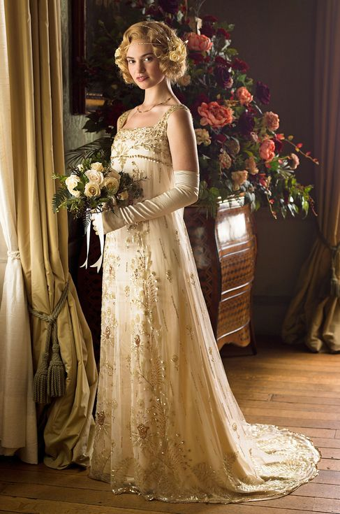 Look back at every Downton Abbey wedding dress - Rose to Atticus Aldridge (believe it or not, the 100-year-old gown had never been worn!)