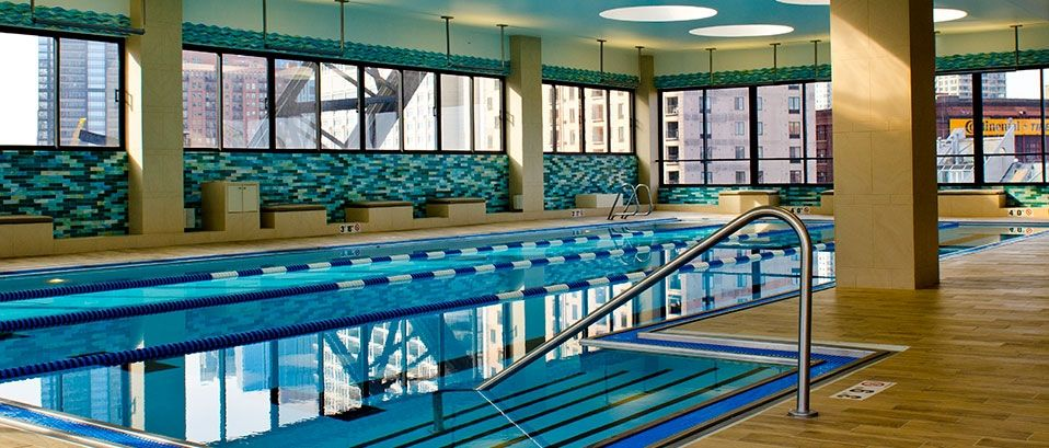 Dive in at east bank club fitness facilities club interior