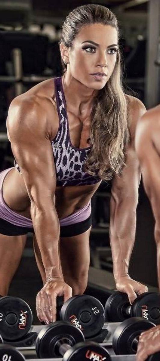 Muscle Fitness Motivation Bodybuilding Girlpower