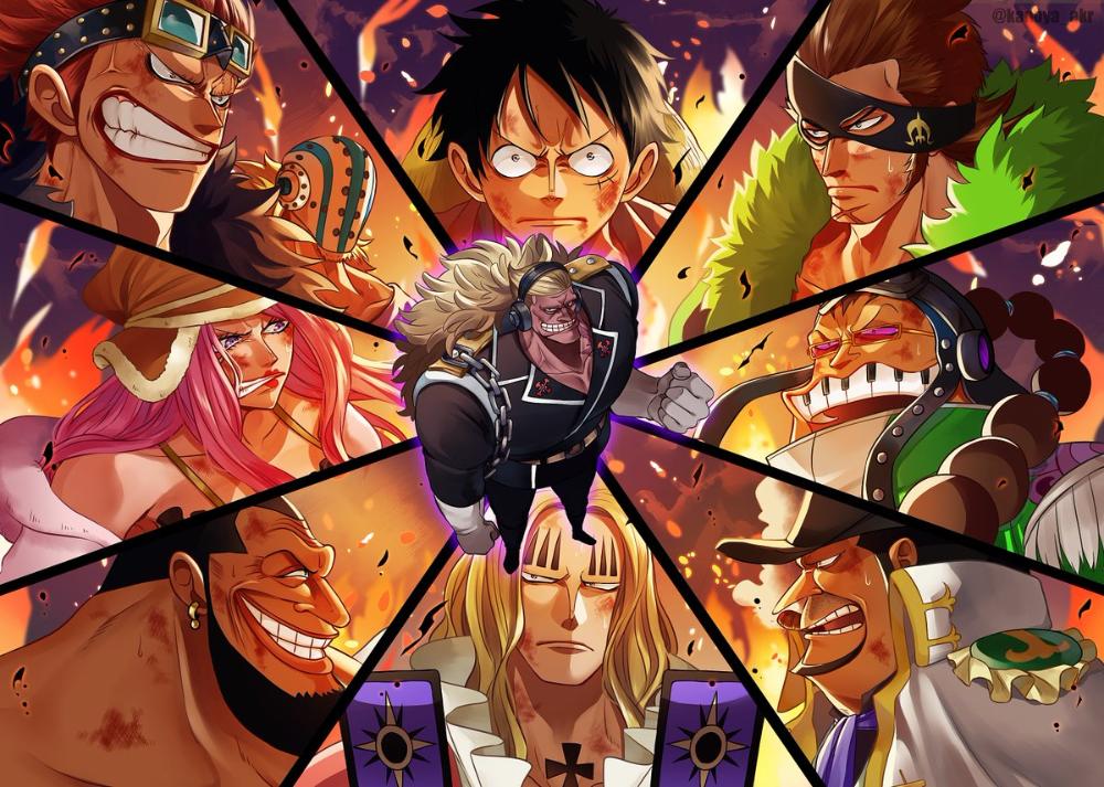 One Piece Supernovas | One piece manga, One piece anime ...