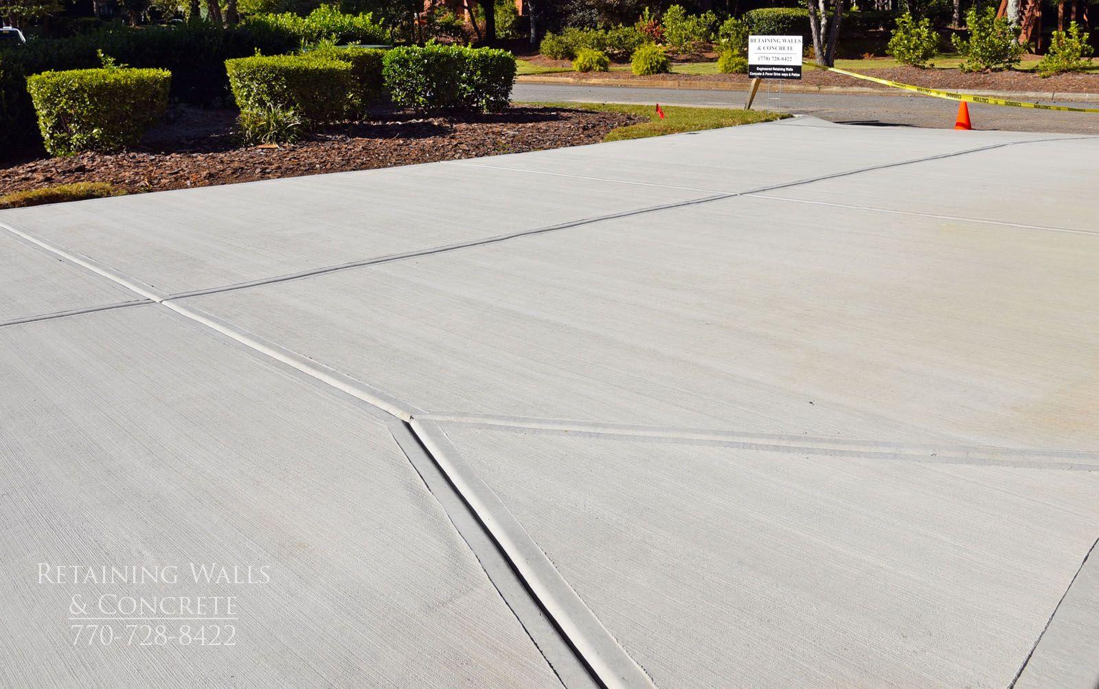 Concrete Driveway Control Joints Concrete Driveways Concrete Design Concrete