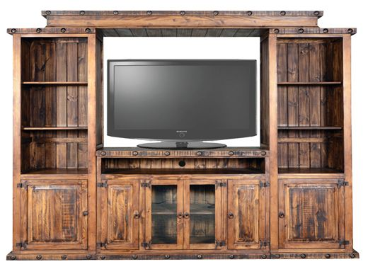 rustic entertainment centers | oasis entertainment center 50 ...