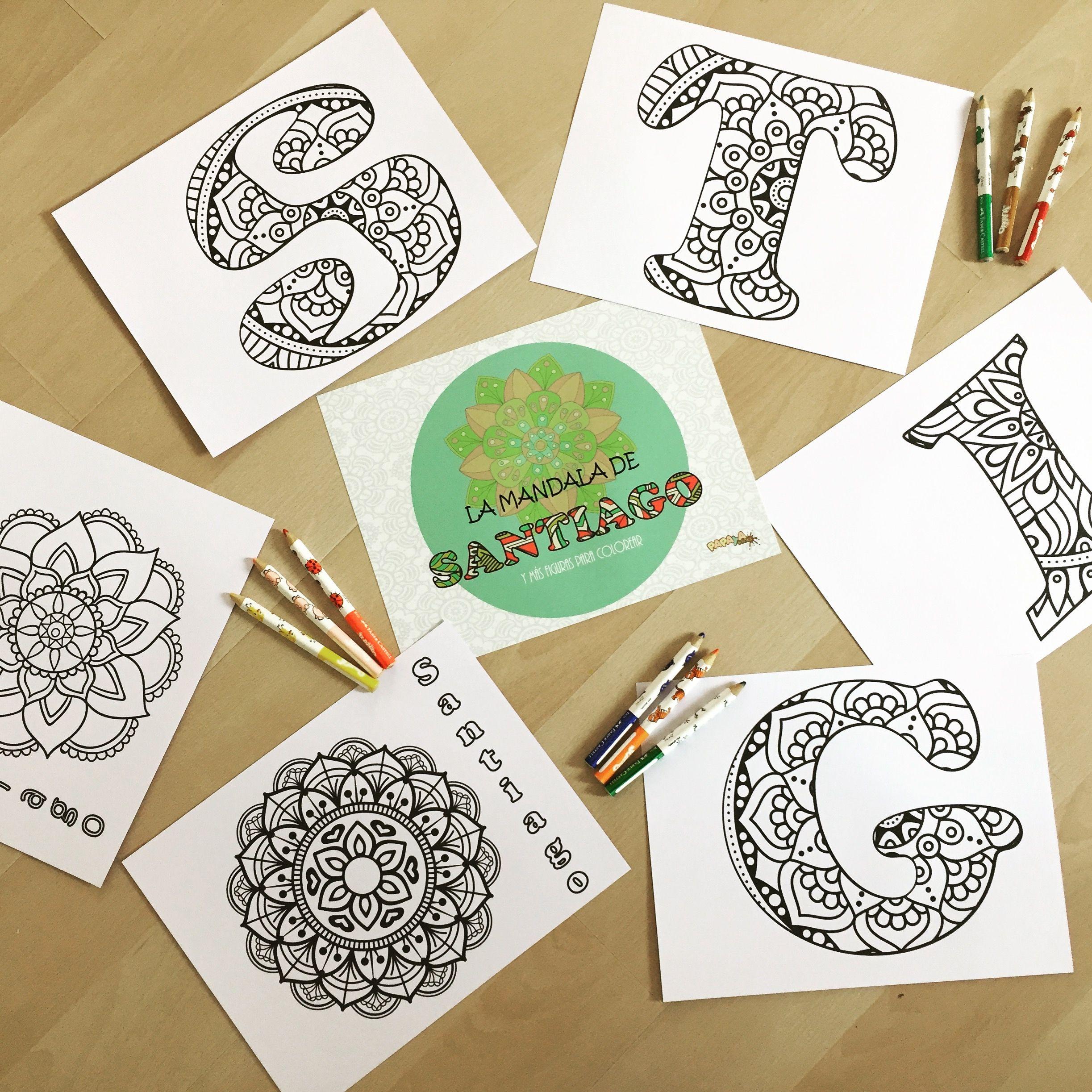 Mandalas y otras figuras para colorear. Libros personalizados | Book ...