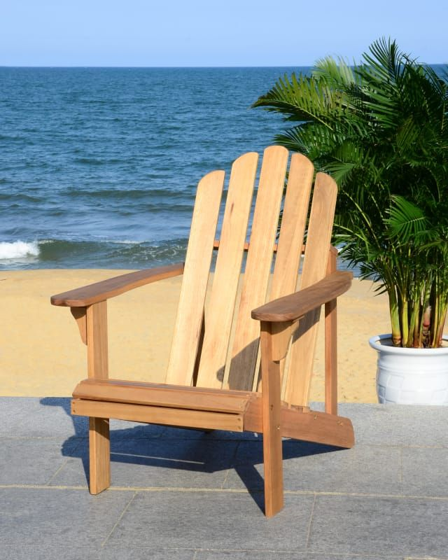 Admirable Safavieh Pat7027 Products Wood Adirondack Chairs Chair Caraccident5 Cool Chair Designs And Ideas Caraccident5Info