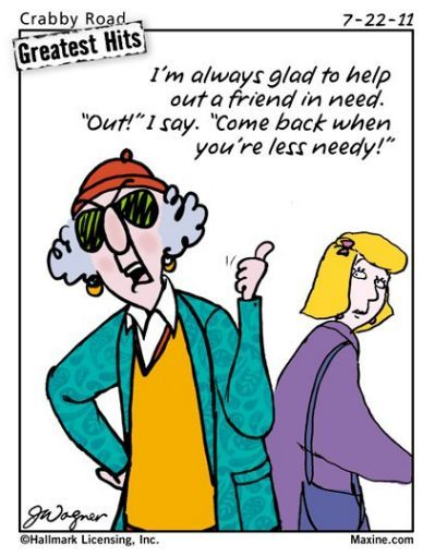 Maxine Cartoon On Friends And Maxine Humor Laugh