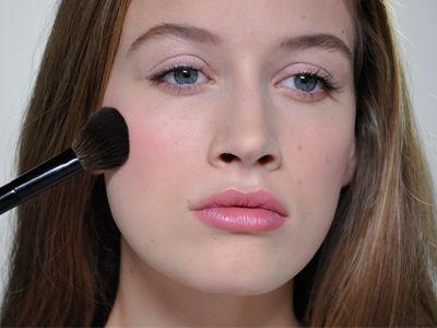 My #ELLEUK Makeup Tutorial on the perfect blusher. #LisaEldridge #BeautyTipsForMoms