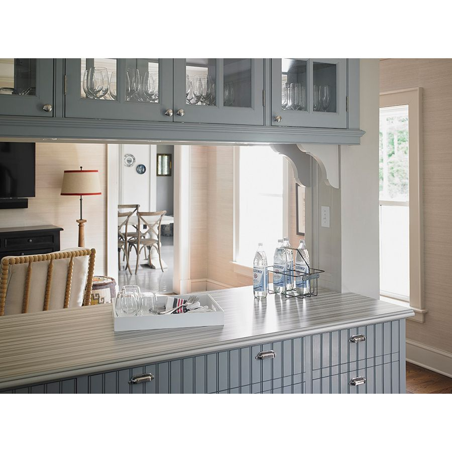 Laminate Kitchen Countertops With White Cabinets shop formica brand laminate 30-in x 96-in ashen ribbonwood - matte