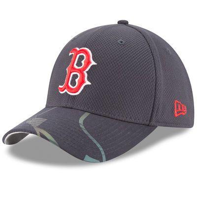 size 40 55913 12003 Boston Red Sox New Era Flow Flect Logo 39THIRTY Flex Hat - Navy
