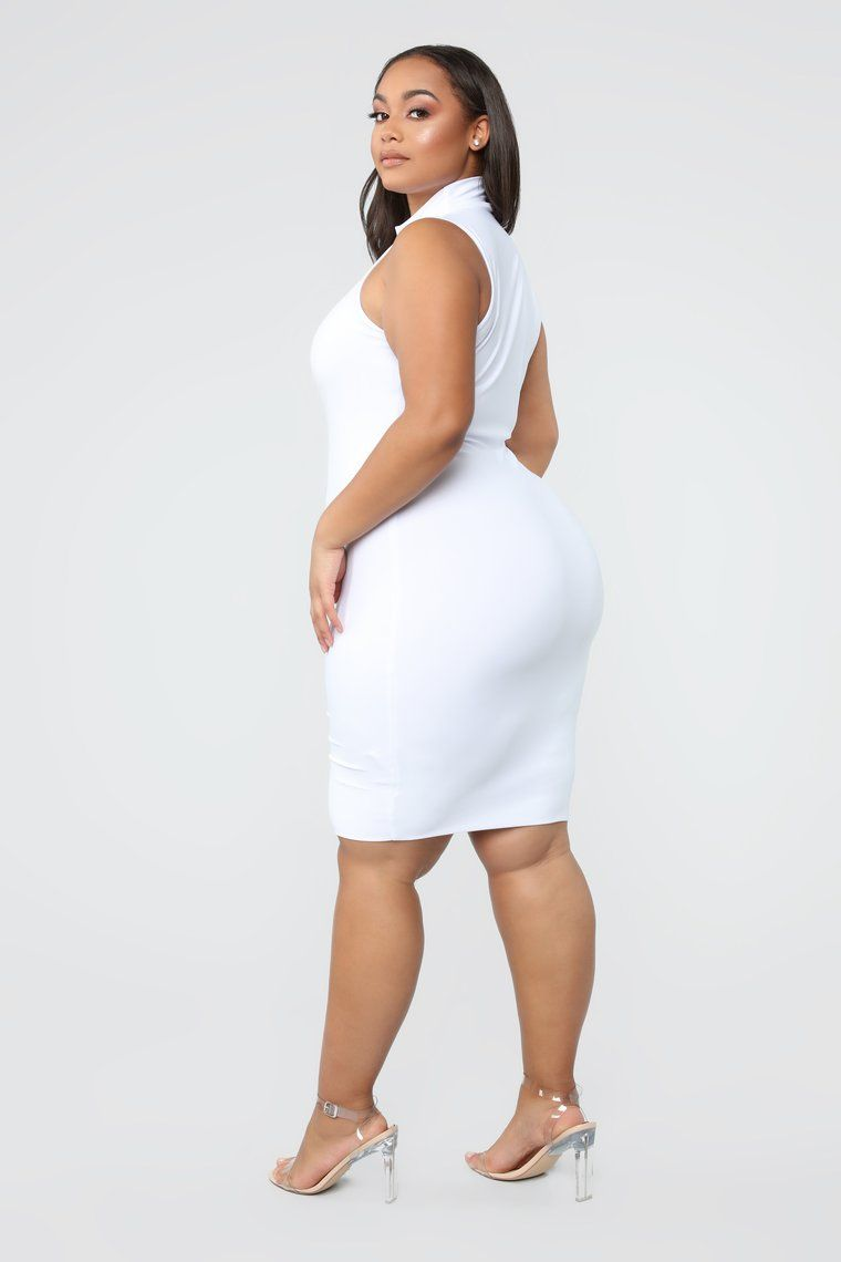 4d44173f81 Hug Your FN Body Midi Dress - White in 2019 | CRUSHES!! ❤ | White ...