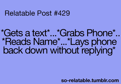 admit it. you've done this too. lol