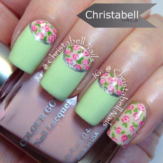 Instagram photo by christabellnails #nail #nails #nailart | Uñas ...