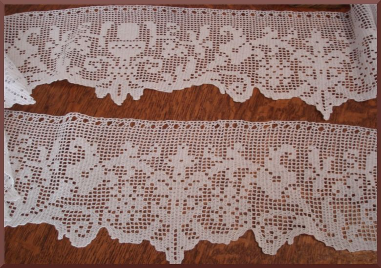 altare on Pinterest   Filet Crochet, Altars and Picasa   cortinas ...