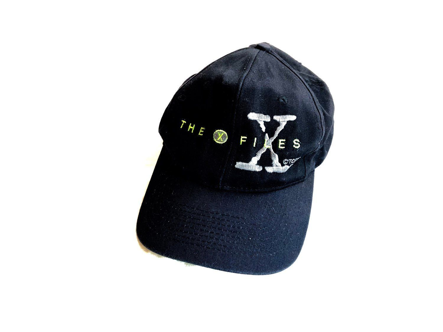 The X-Files Hat Vintage 90s Mulder and Scully Baseball Cap VTG Alien  Snapback Spooky 6287f239e