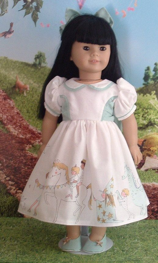 Magical Parade for American Girl Dolls by MyGirlClothingCo on Etsy