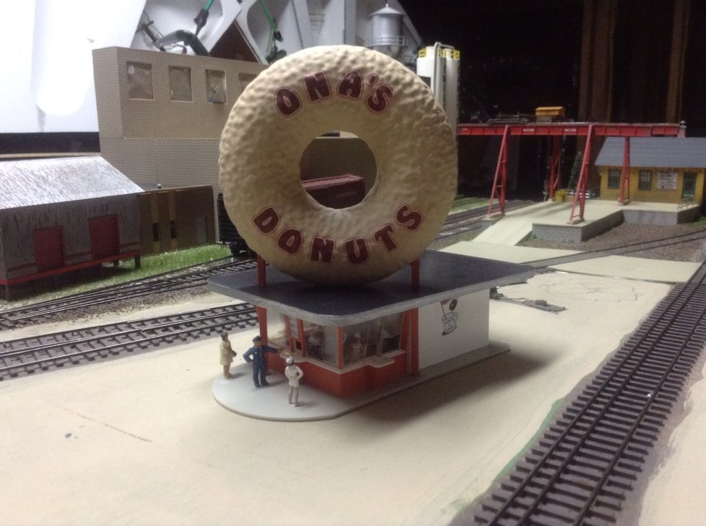 Newly completed Ona's Donuts and ready to install!