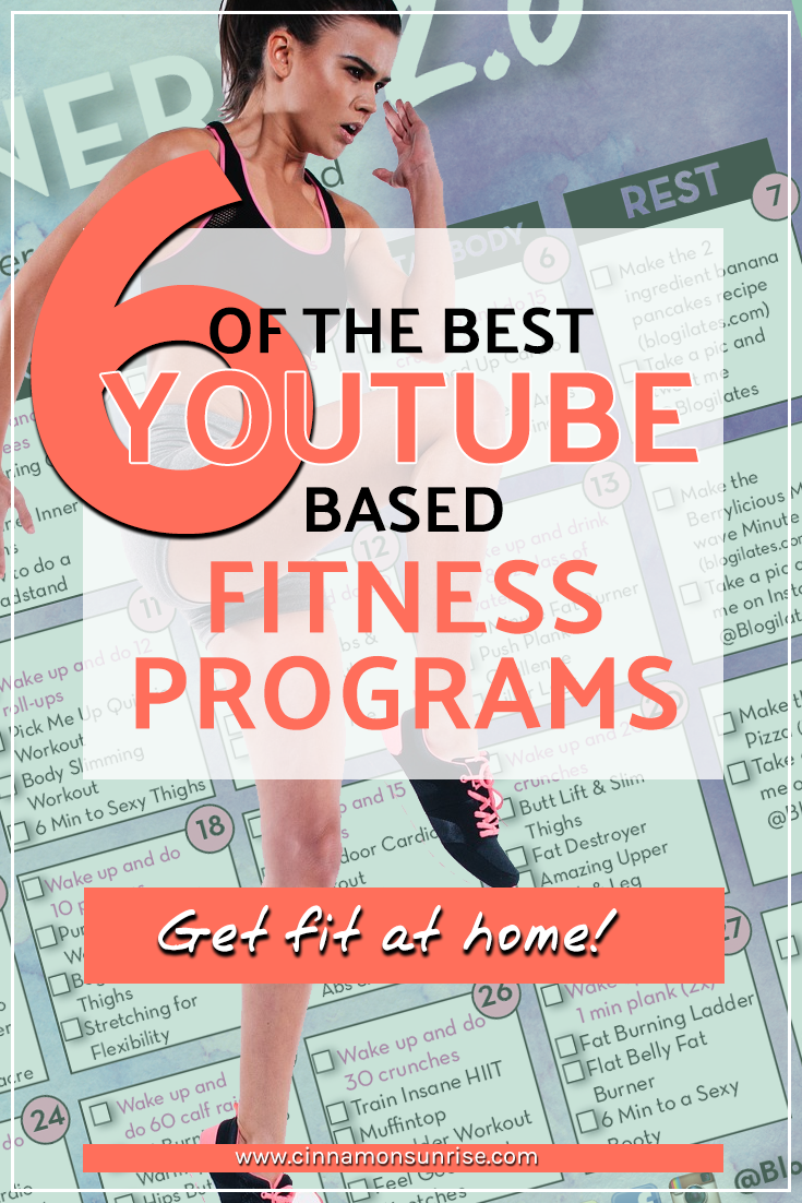 1b5d1ae3605 Discover the best online YouTube based fitness programs for people who want  a bit more structure
