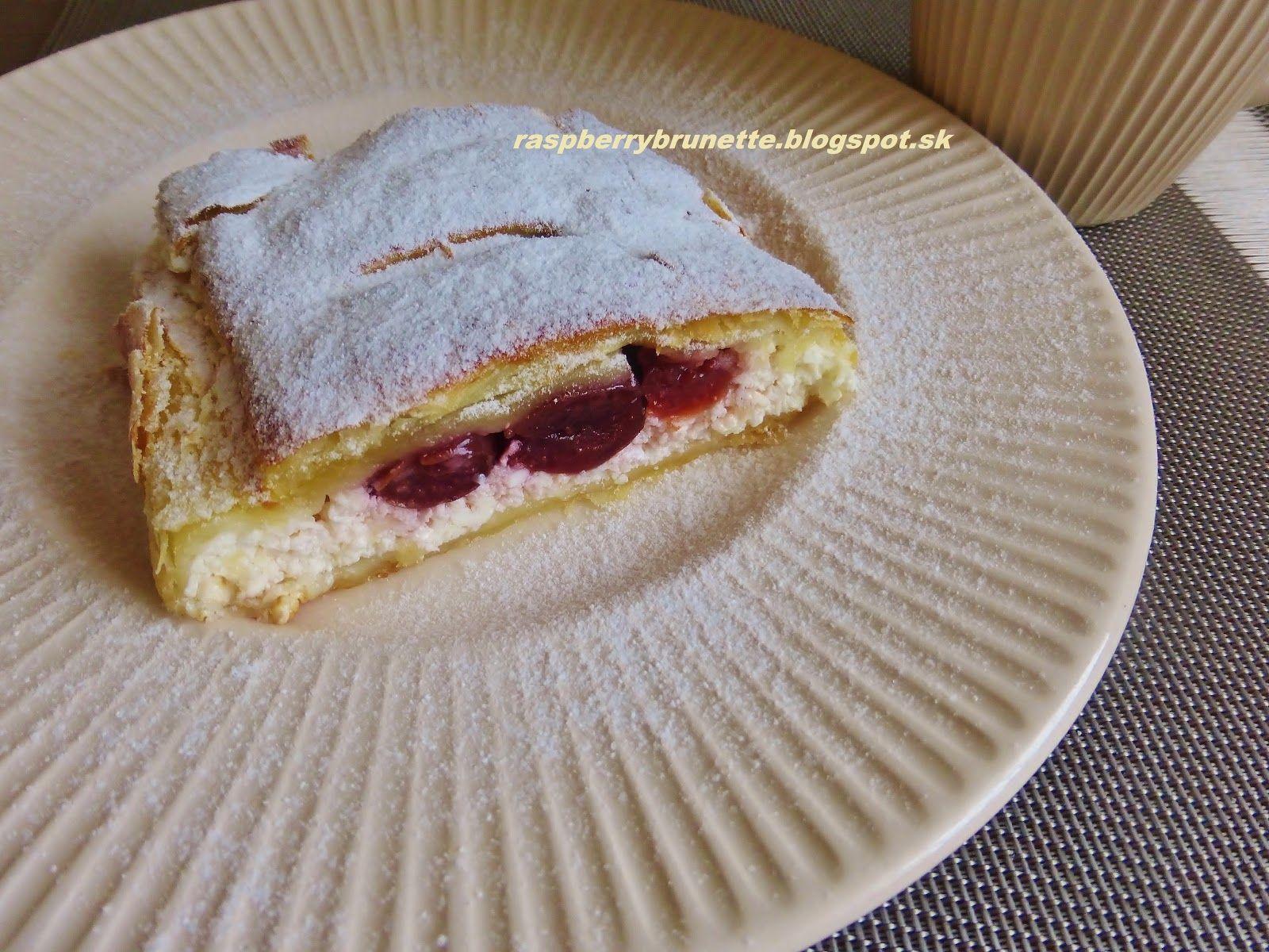 Raspberrybrunette: Rýchly tvarohový závin s višňami  Rýchly závin z ...