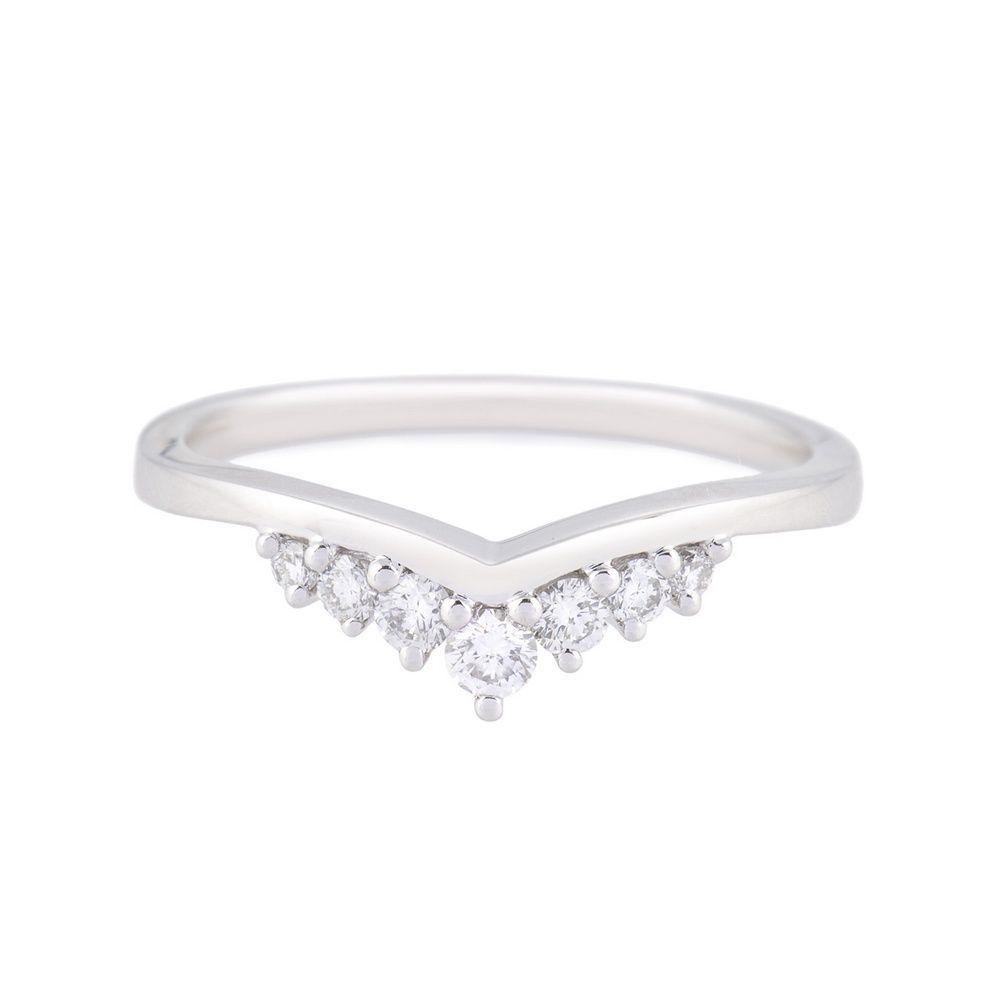 wedding band curved curved wedding bands platinum