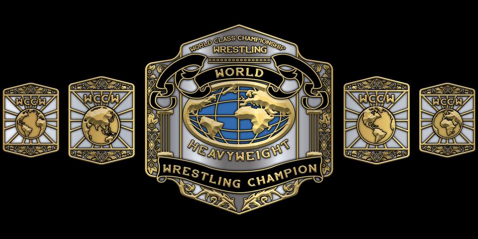 Wccw Championship Renders Wwegames Wwe Championship Belts Wwe Belts Nwa Wrestling