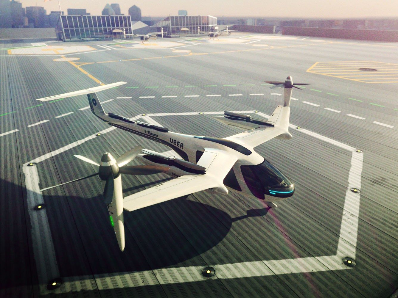 Uber's Bid to Launch Flying Cars in LA by 2020 Might