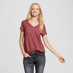 6db36aca84 Women's Short Sleeve Relaxed V-Neck Tee - Mossimo Supply Co.™ : Target