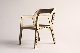 "Sketch Chair: design and build your own ""flat-pack"" chair!"