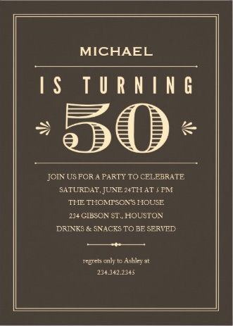 Men S Birthday Party Invitations 60th Birthday Invitations 70th Birthday Invitations 90th Birthday Invitations