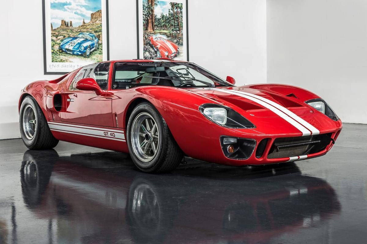 1966 Ford Gt40 Ford Gt40 Ford Gt Classic Cars