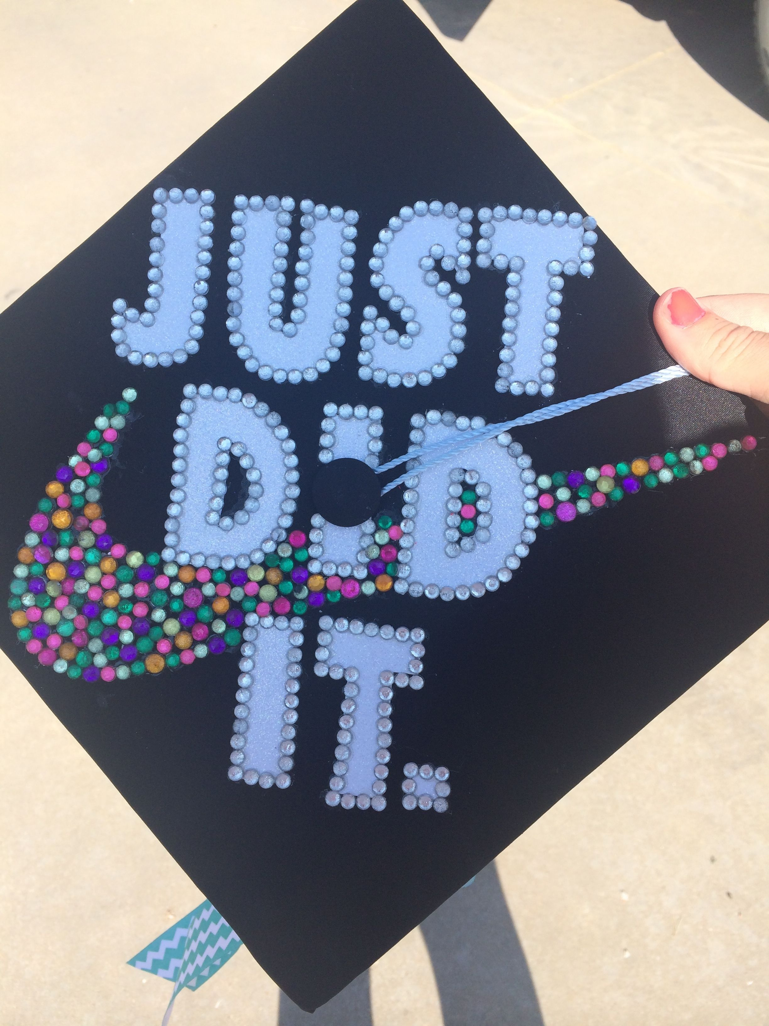 My Graduation Cap nike swoosh 2014 crafts Pinterest