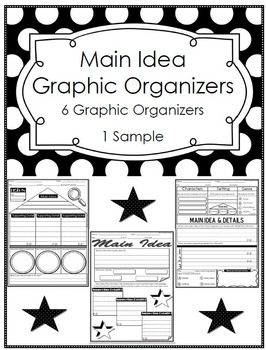 This Graphic Organizer Can Be Used To Give The Students A Brief Concept Of Both The Main Idea Graphic Organizers Main Idea Graphic Organizer Reading Main Idea