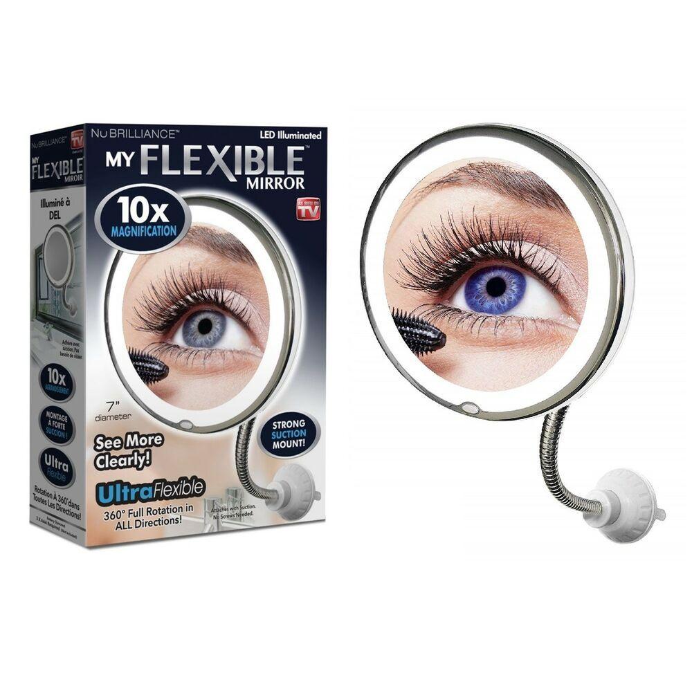 Price US 16.95 My Flexible Illuminated Mirror 10x Mag