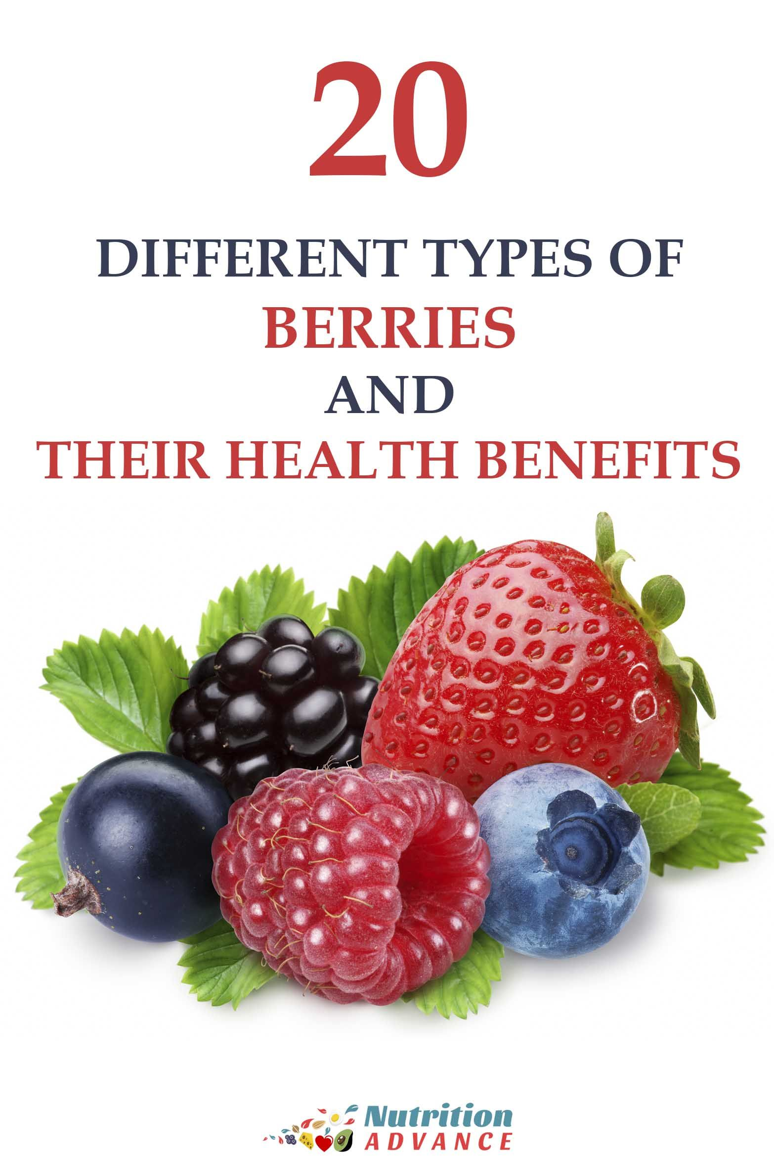 20 Types Of Berries And Their Health Benefits Calories Carbs Nutrients Studies Recipes And Berry Coconut Health Benefits Types Of Berries Lemon Benefits