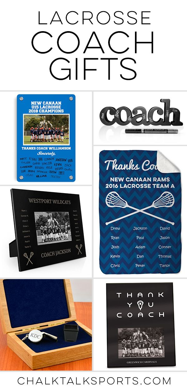 Celebrate Your Awesome Lacrosse Coach With A Special Gift From Chalktalksports Lacrosse Coach Lacrosse Coach Gifts Coach Gifts