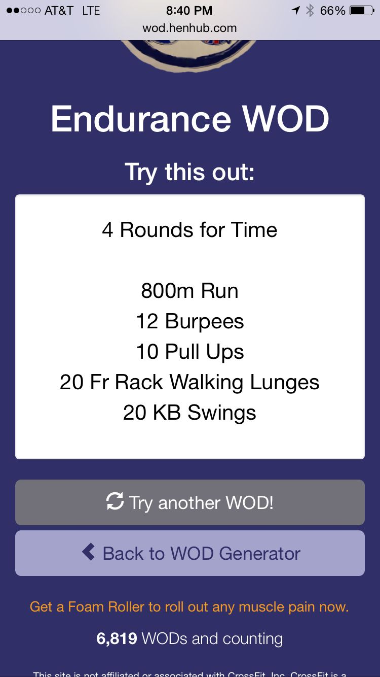 Endurance Wod | Workouts | Pinterest | Crossfit, Workout and ...