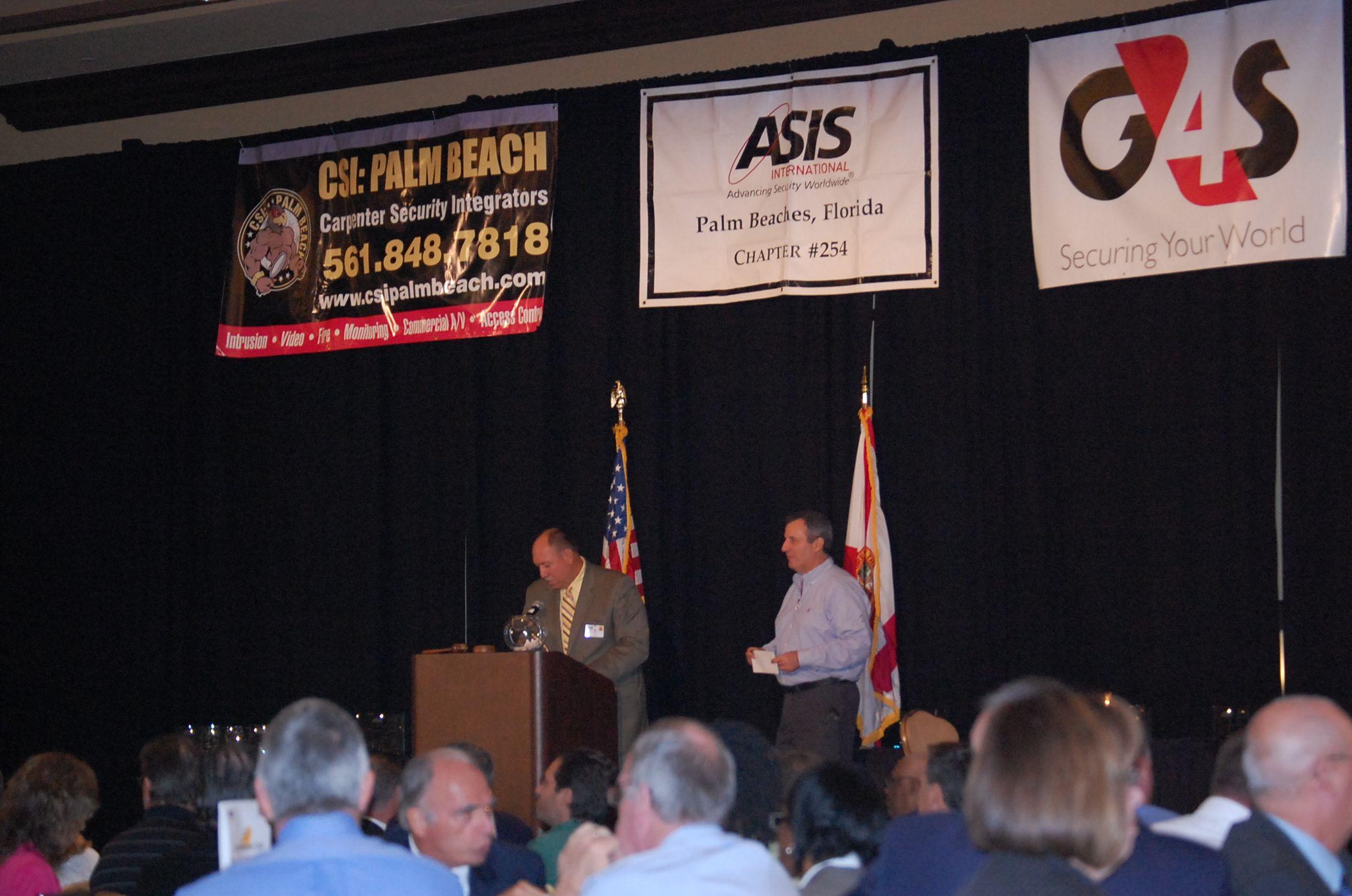 2012 ASIS Law Enforcement Awards Asis Awards